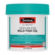 SWISSE ULTIBOOST ODOURLESS WILD FISH OIL
