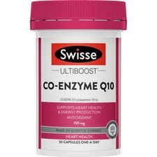 SWISSE ULTIBOOST CO-ENZYME Q10