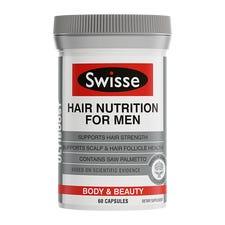 SWISSE ULTIBOOST HAIR NUTRITION FOR MEN