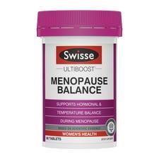 SWISSE ULTIBOOST MENOPAUSE BALANCE