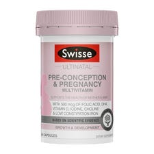 SWISSE ULTINATAL PRE-CONCEPTION & PREGNANCY MULTIVITAMIN